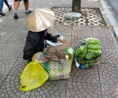 18. Sidewalk Seller