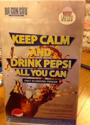 63. Keep Calm with Pepsi