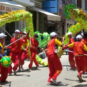 78. Phan Theit Parade Green Dragon