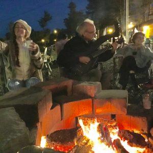 7. John Doan's Harp Guitar Retreat Visit to Local Pub