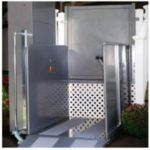 Image via Handicare/Sterling - Sterling 9000 Deck & Porch Lift
