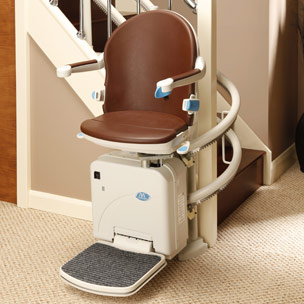 Sterling Handicare 2000 Curved Stairlift Atlanta Stairlifts