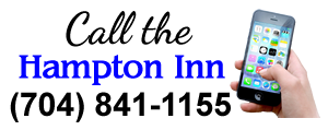 Call the Hampton Inn Matthews at (704) 841-1155