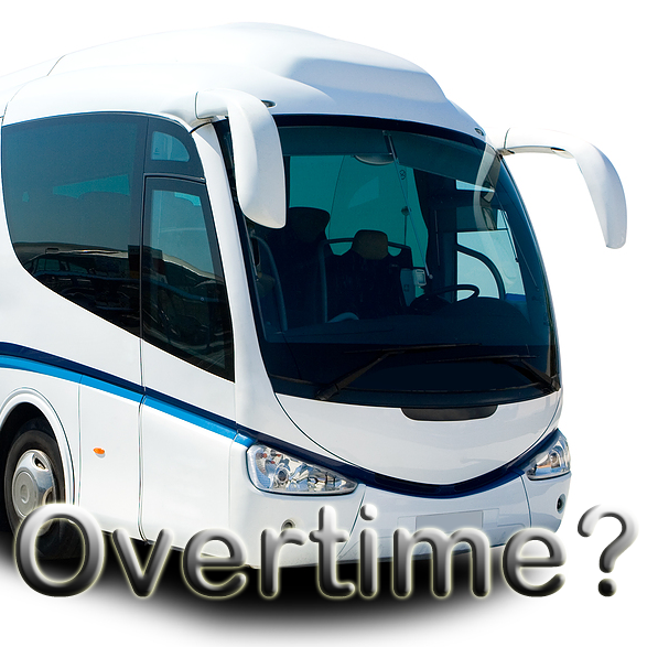 California Overtime Exemption for Tour Bus Drivers