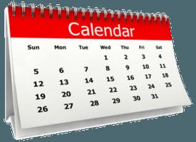 Calendar 275x200