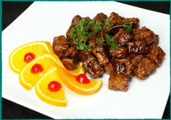 Komol Thai Restaurant - Orange Tofu