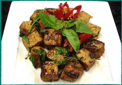 Komol Thai Restaurant - Tofu Chili Mint