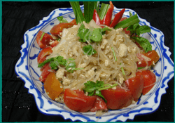Komol Thai Restaurant - Vegetarian Bean Thread Noodle Salad
