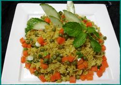 Komol Thai Restaurant - Vegetarian Curry Fried Rice
