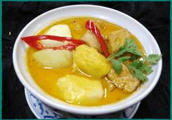 Komol Thai Restaurant - Vegetarian Indian Curry