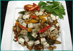 Komol Thai Restaurant - Vegetarian Pad-Kee-Mao