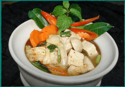 Komol Thai Restaurant - Vegetarian Tom-Yum