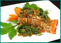 Komol Thai Restaurant - Lobster Basil