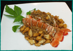 Komol Thai Restaurant - Lobster Garlic