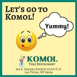Let's go to Komol Restaurant_In