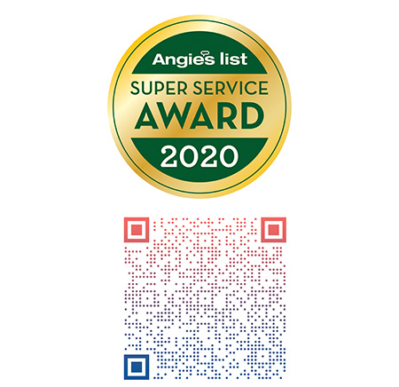 Angies List Super Service Award 2020