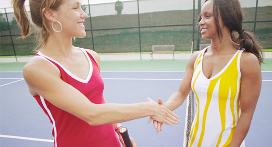 Practice Good Sportsmanship off of the Court