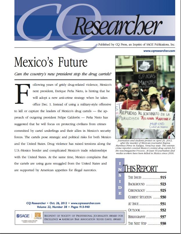 Mexico's Future – CQ Researcher (2012)