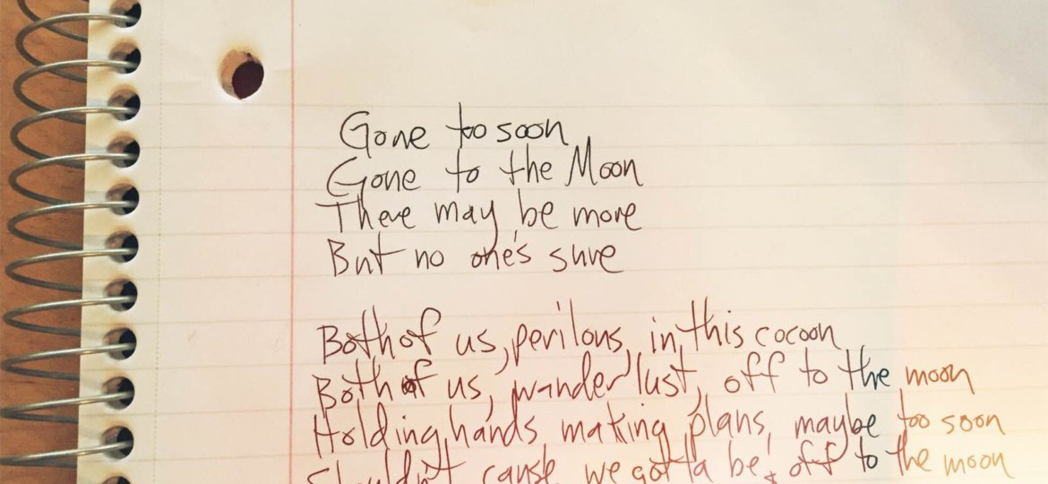 """Lyrics for """"off to the moon"""""""