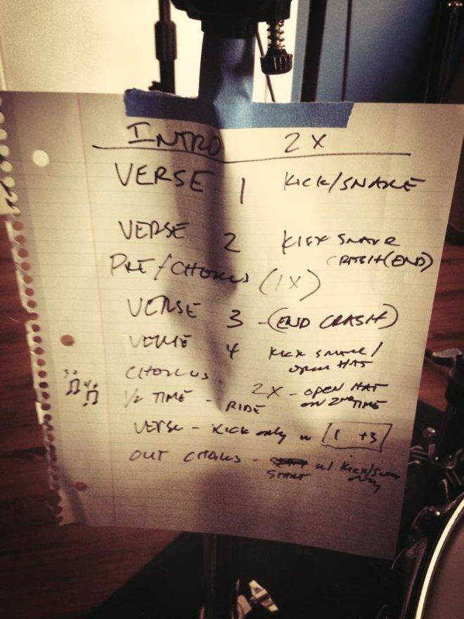 Drummer notes
