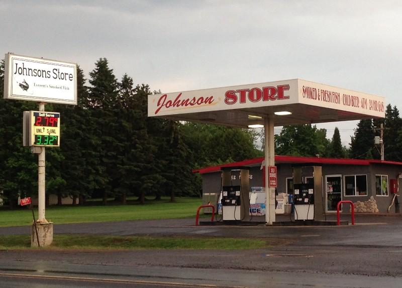 Johnson Store in Port Wing, Wisonsin