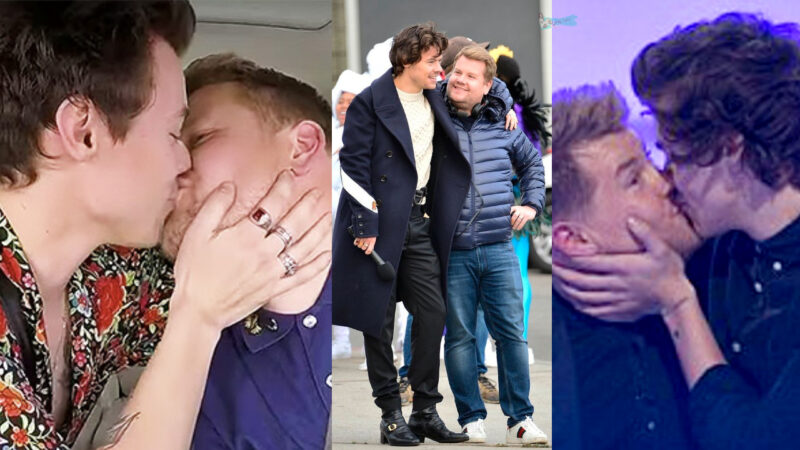 Harry Styles and James Corden Funny moments