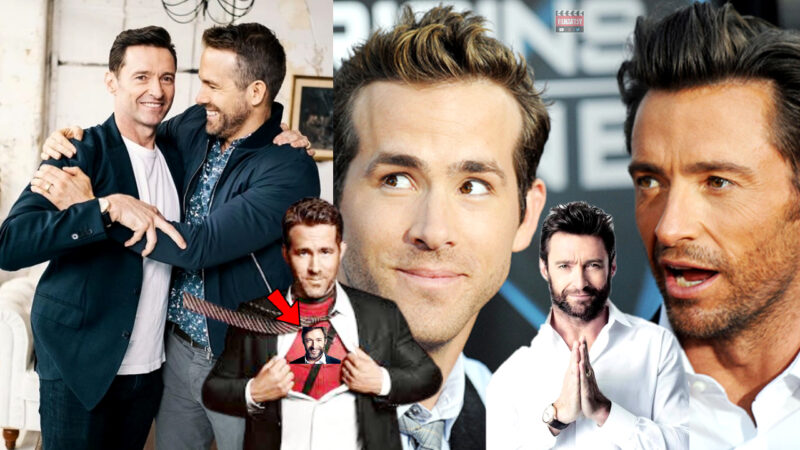 Ryan Reynolds & Hugh Jackman Funny Moments