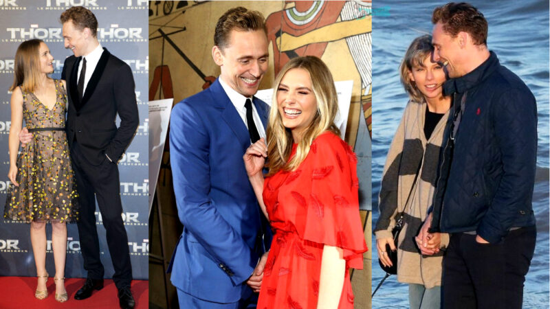 female celebrities being thirsted over by Tom Hiddleston