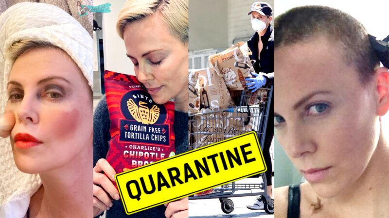 charlize theron in quarantine