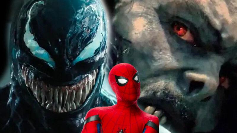 Morbius and venom in Spiderman 3