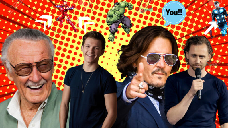 celebrities talking about your favorite superheroes