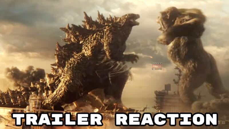 Godzilla Vs Kong Reaction