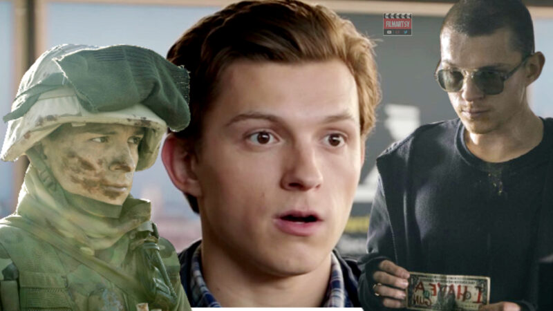 Tom Holland Transformation