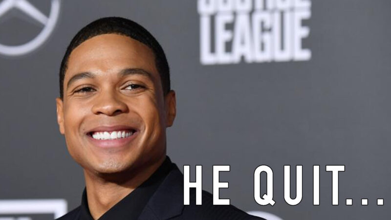 Ray fisher quits DCEU