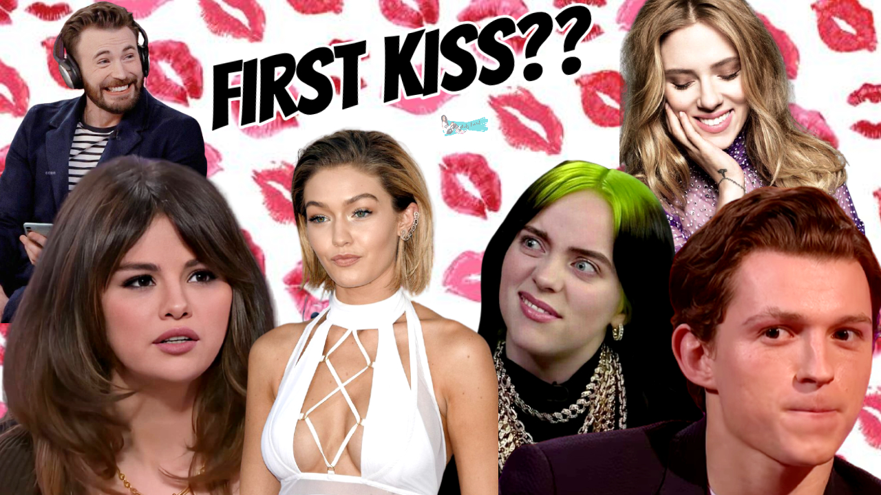 Celebrities Talking About Their First Kiss