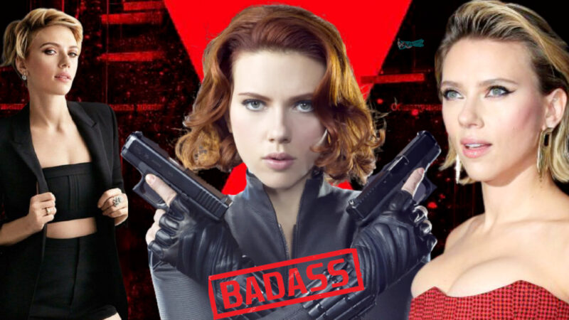 Scarlett Johansson Badass
