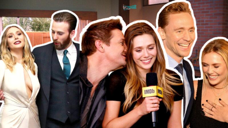 celebrities flirting with elizabeth olsen
