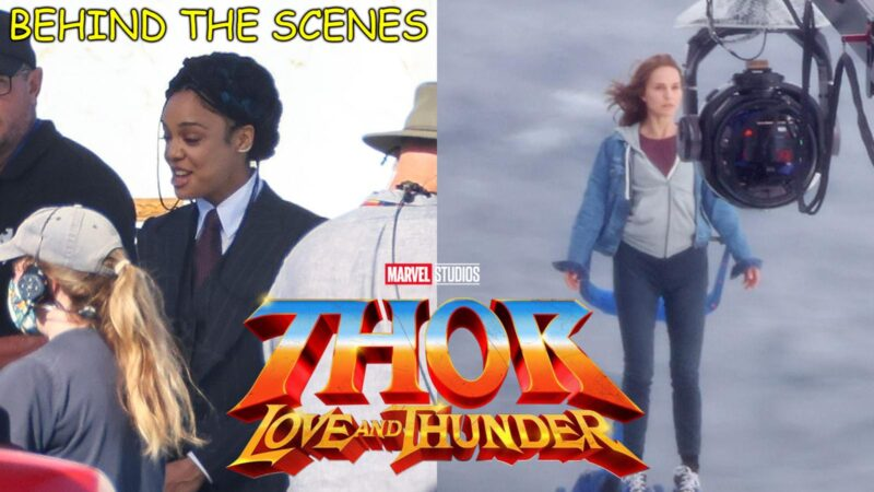 Thor Love And Thunder Behind The Scenes