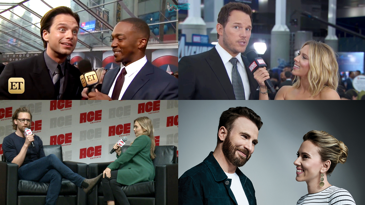Marvel Celebrities Interviewing Each Other