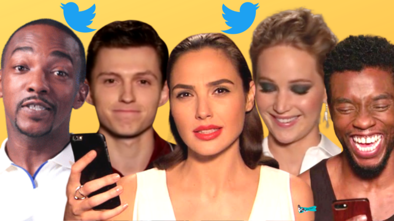 Celebrities Reating To Fan Tweets