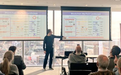 TokenFunder Presents Blockchain at MarTech Mornings