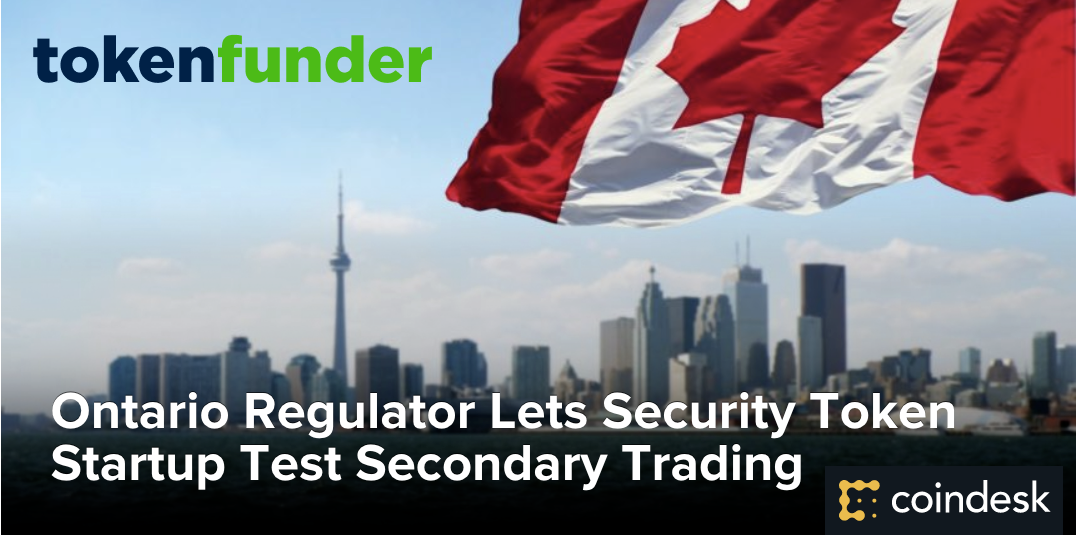 Ontario Regulator Lets Security Token Startup Test Secondary Trading
