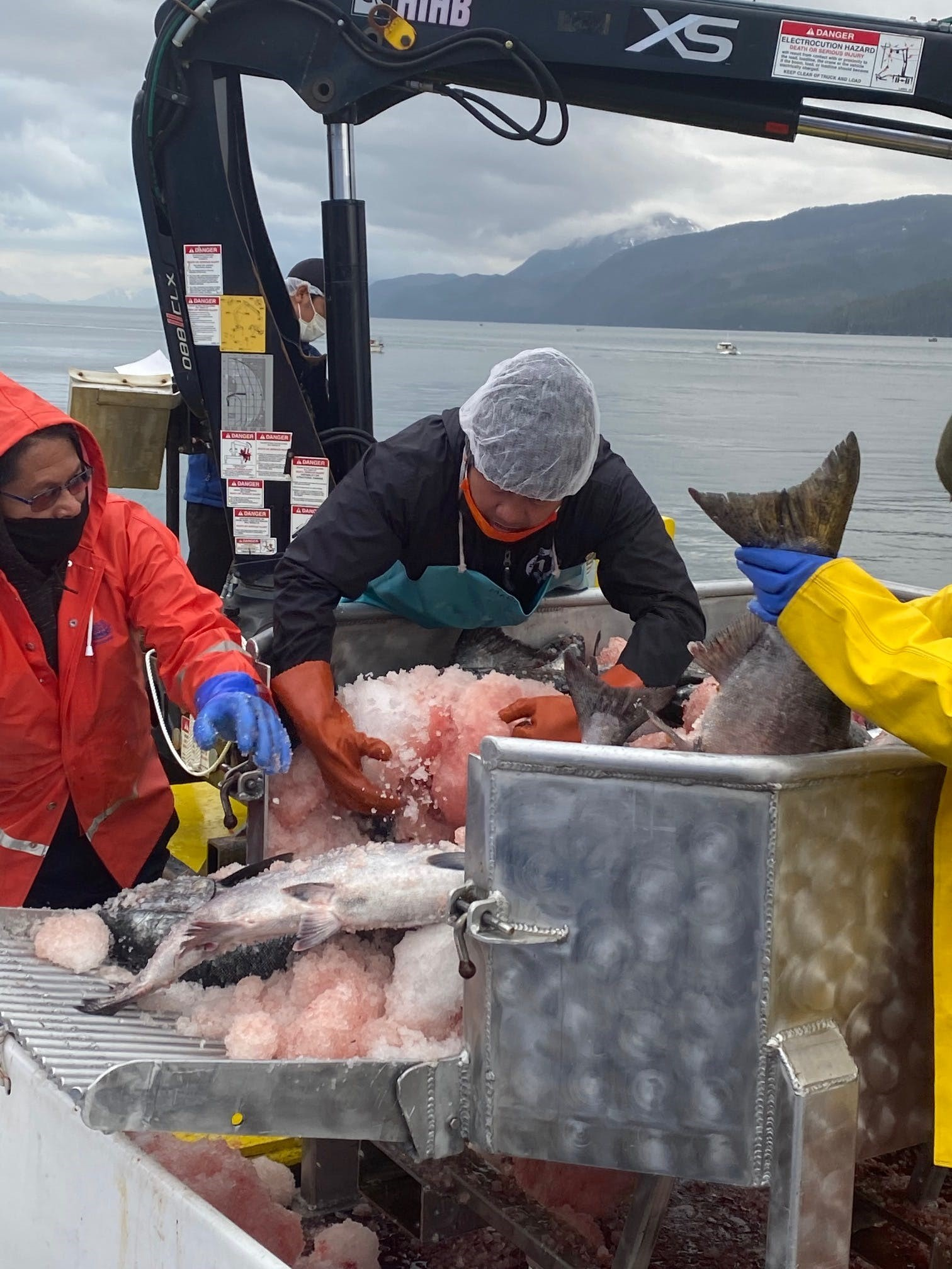 Indian Country Today - COVID spikes at Alaska fish processing plants raise alarm