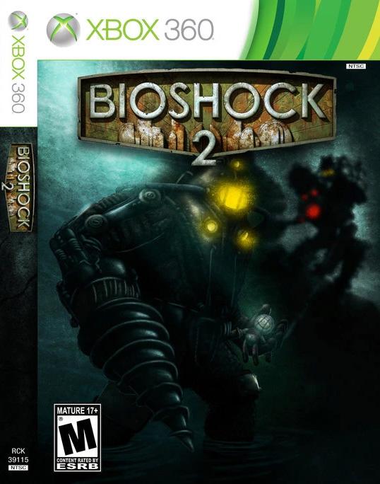 Bioshock 2 XBox 360 Cover
