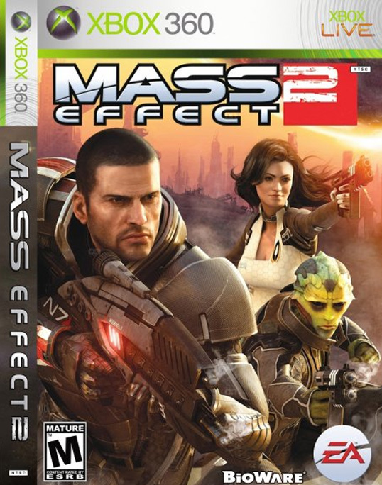 Mass Effect 2 Xbox Cover
