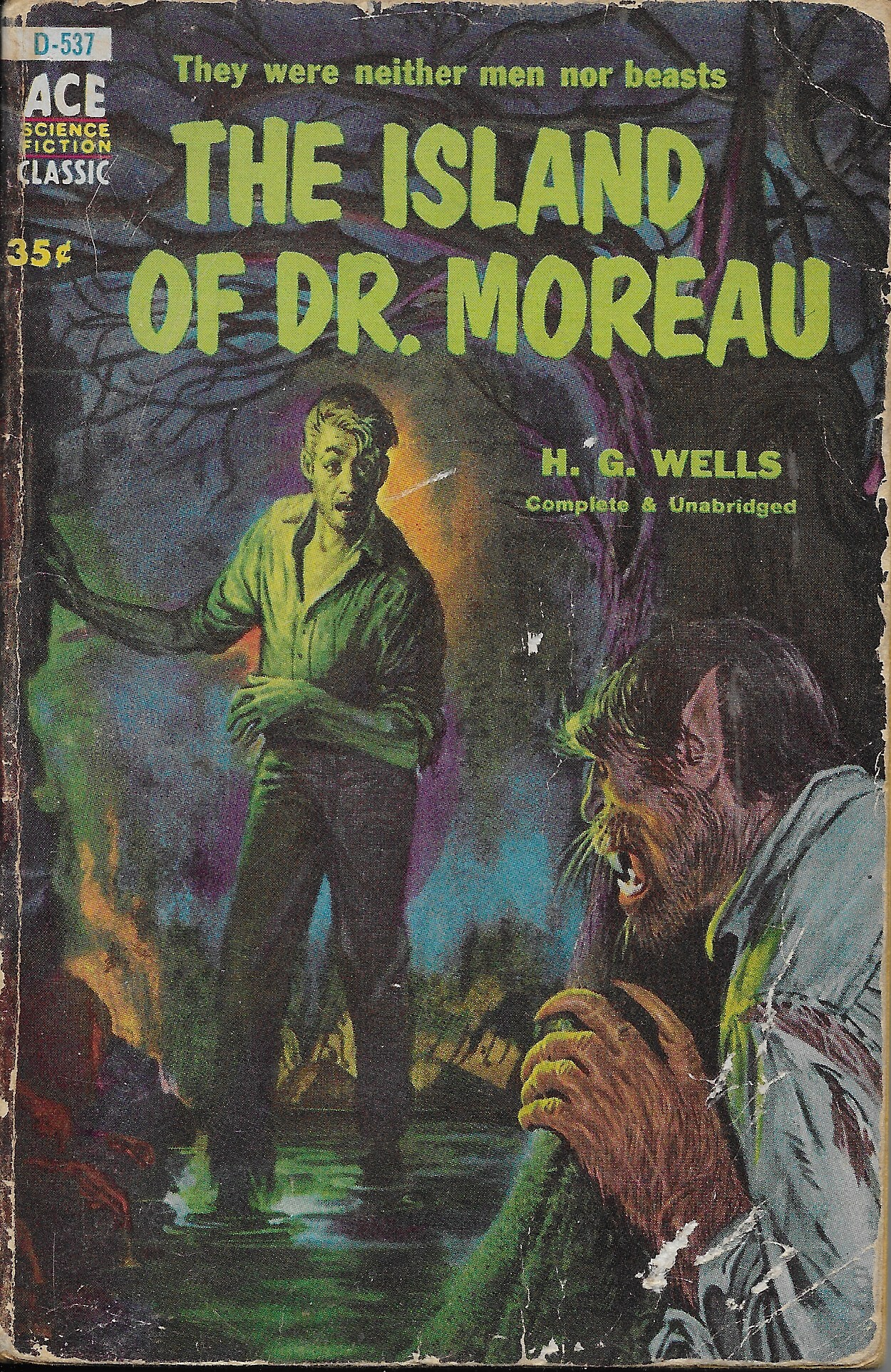 Book cover of The Island of Dr. Moreau