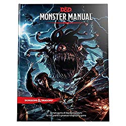 Dungeons and Dragons Monster Manual for 5th edition