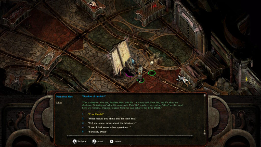 Screenshot of Planescape