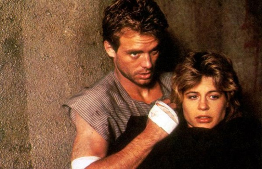 Kyle Reese and Sarah Connor from the Terminator