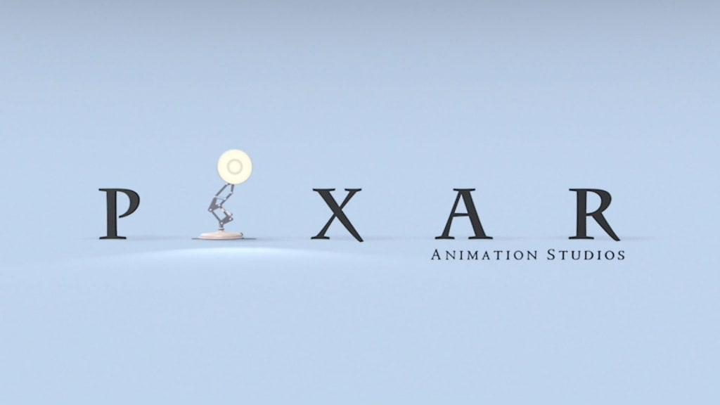 Pixar Animation Studios Lamp Logo